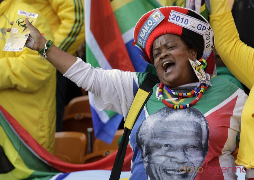 Mandela no estuvo en la ceremonia de apertura del Mundial 2010