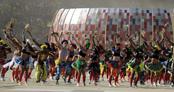 Unión de culturas de todo el mundo en Sudáfrica 2010