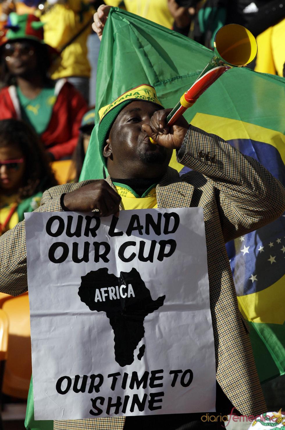 ¡Viva África! Empieza la fiesta del Mundial 2010