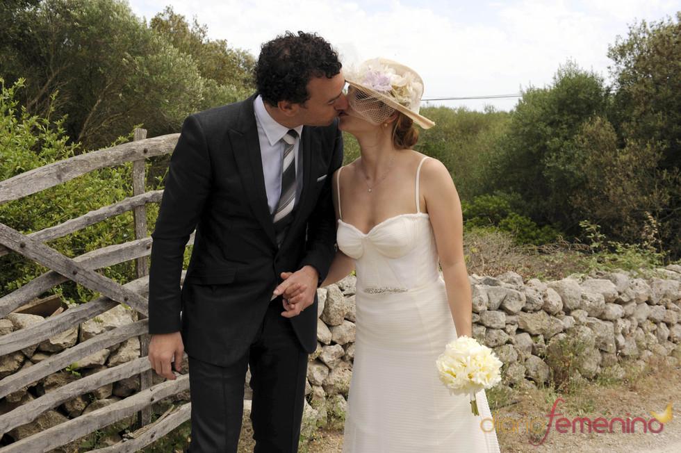María Adánez se besa con David Murphy