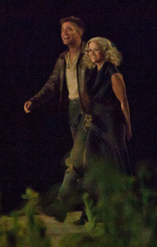 Robert Pattinson y Reese Witherspoon en 'Water for Elephants'
