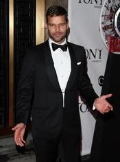 Ricky Martin en los premios Tony 2010