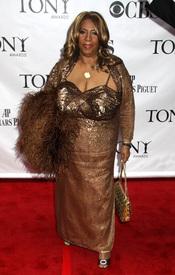 Aretha Franklin en los premios Tony 2010