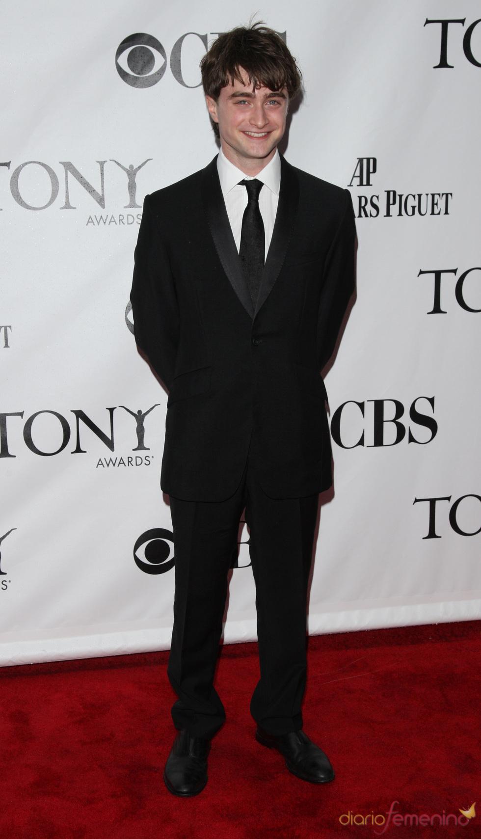 Daniel Radcliffe en los premios Tony 2010