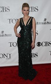 Scarlett Johansson en los premios Tony 2010