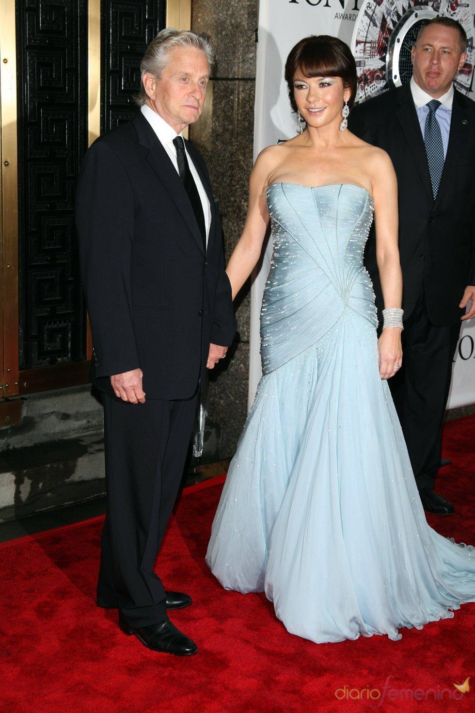 Premios Tony 2010: Michael Douglas y Catherine Zeta-Jones