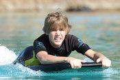 Justin Bieber bajo el sol de las Bahamas