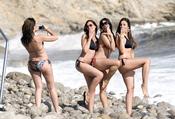 Marbelys y sus amigas, de risas en Ibiza