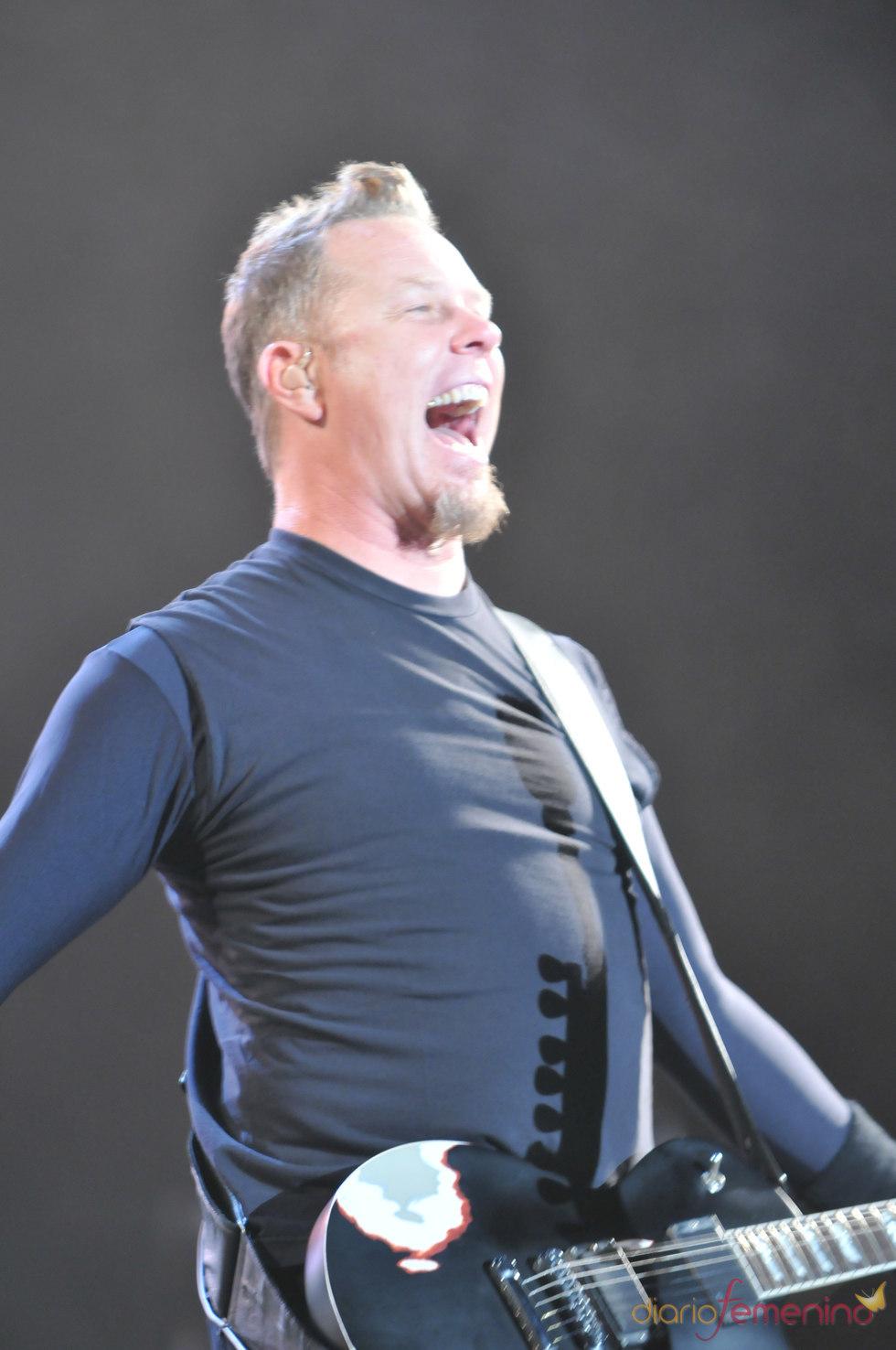Metallica en el Rock in Rio Madrid 2010