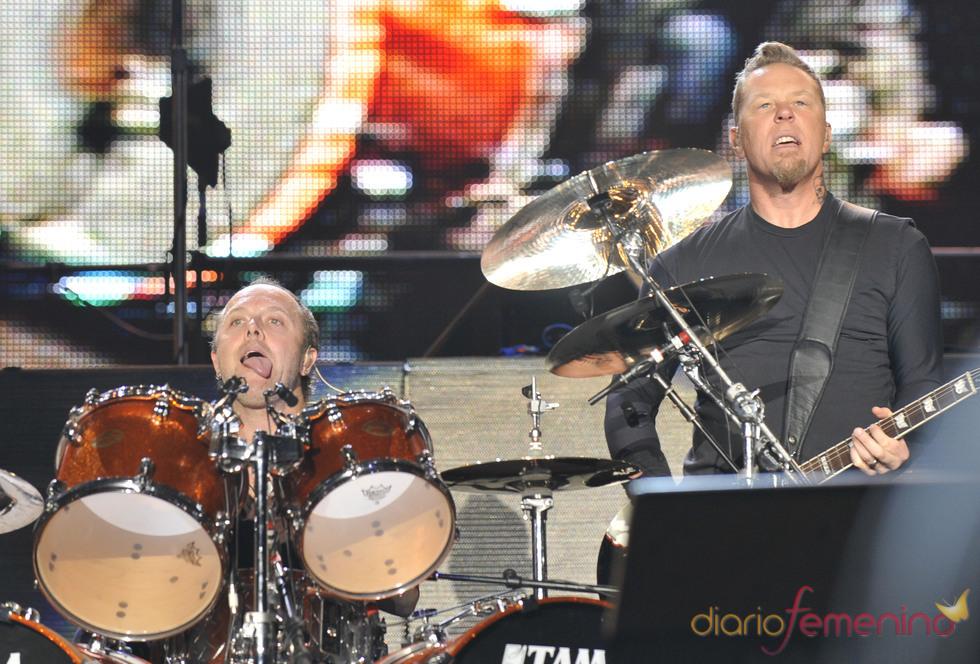 Actuación de Metallica en el Rock in Rio