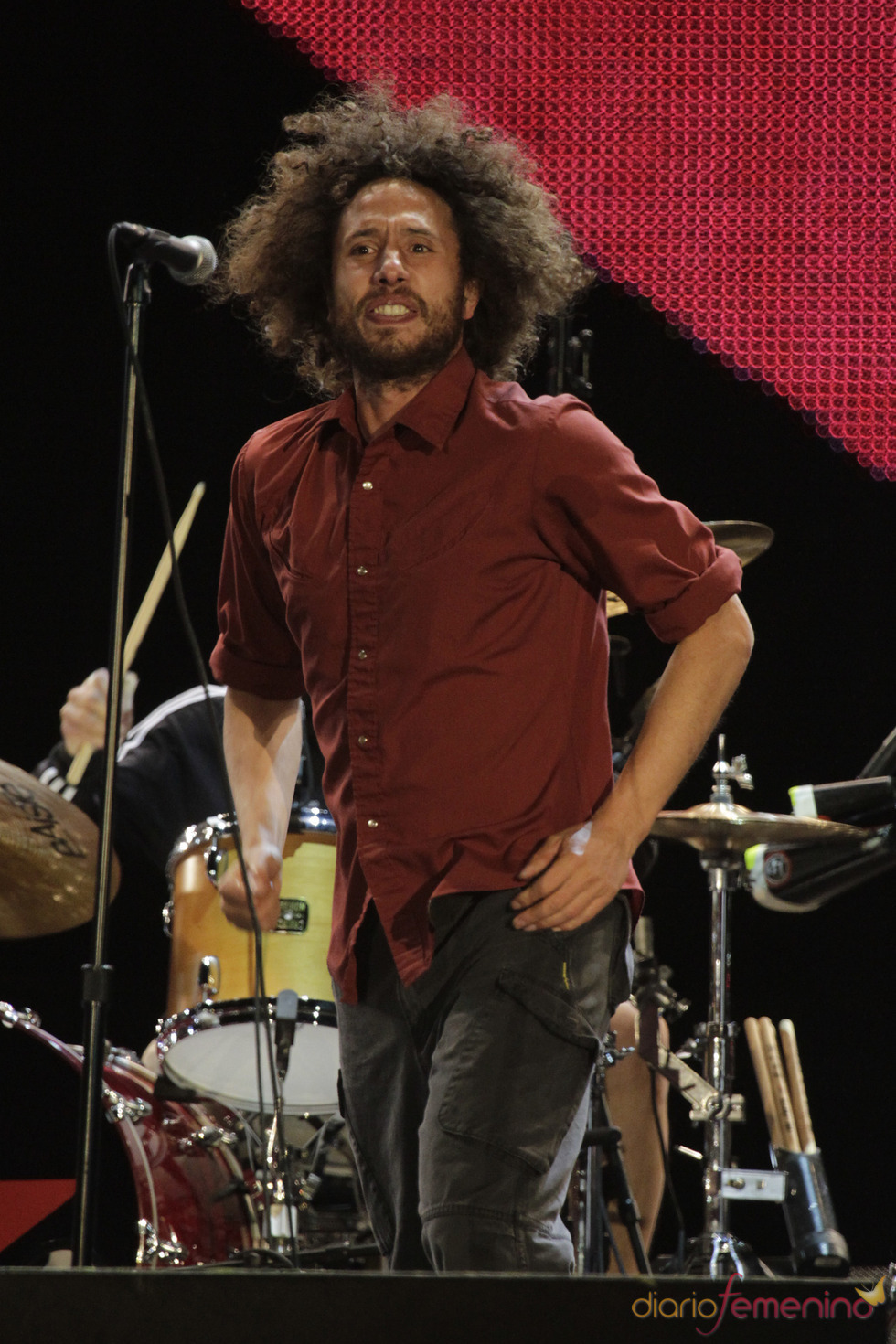 Zack de la Rocha, de Rage against the machine, en el Rock in Rio