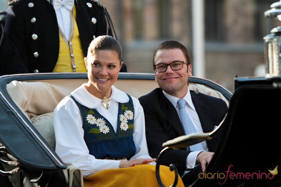Victoria de Suecia y Daniel Westling se casan