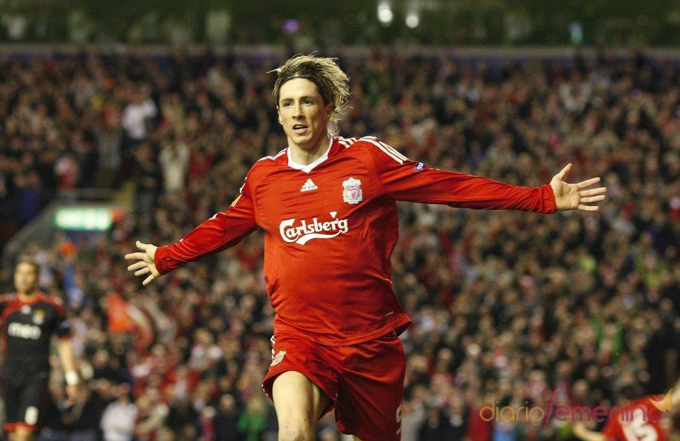 Fernando Torres celebra un triunfo