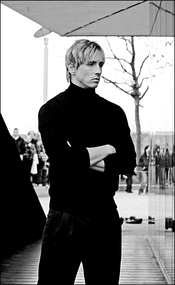 Fernando Torres prueba como modelo