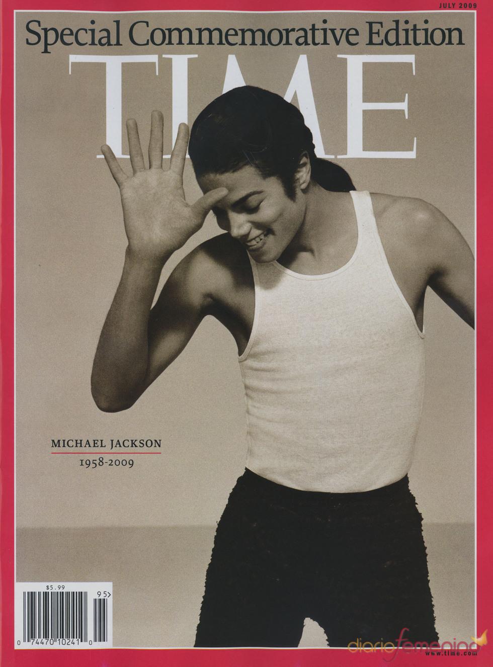 La famosa portada de Michael Jackson
