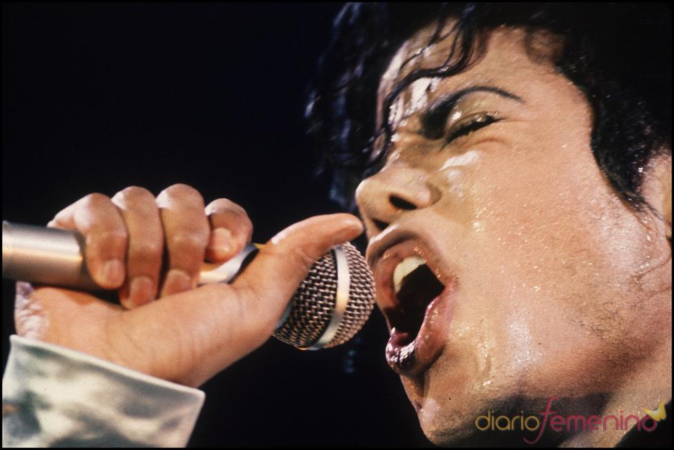 Michael Jackson en la época de 'Bad'