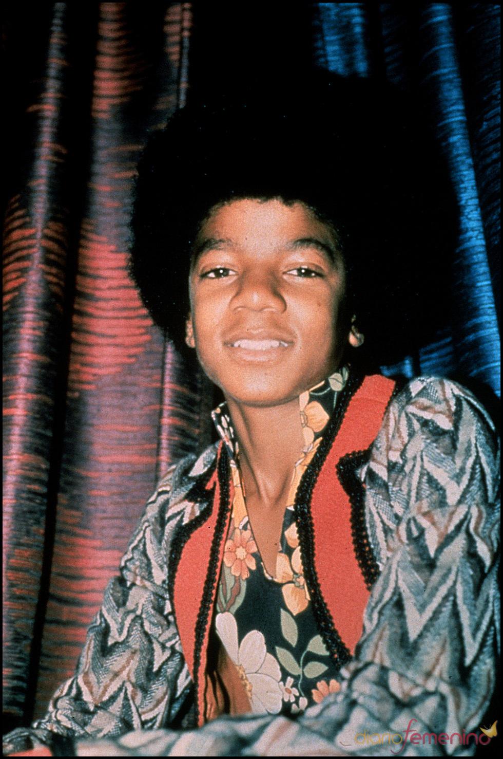 Michael Jackson, de niño