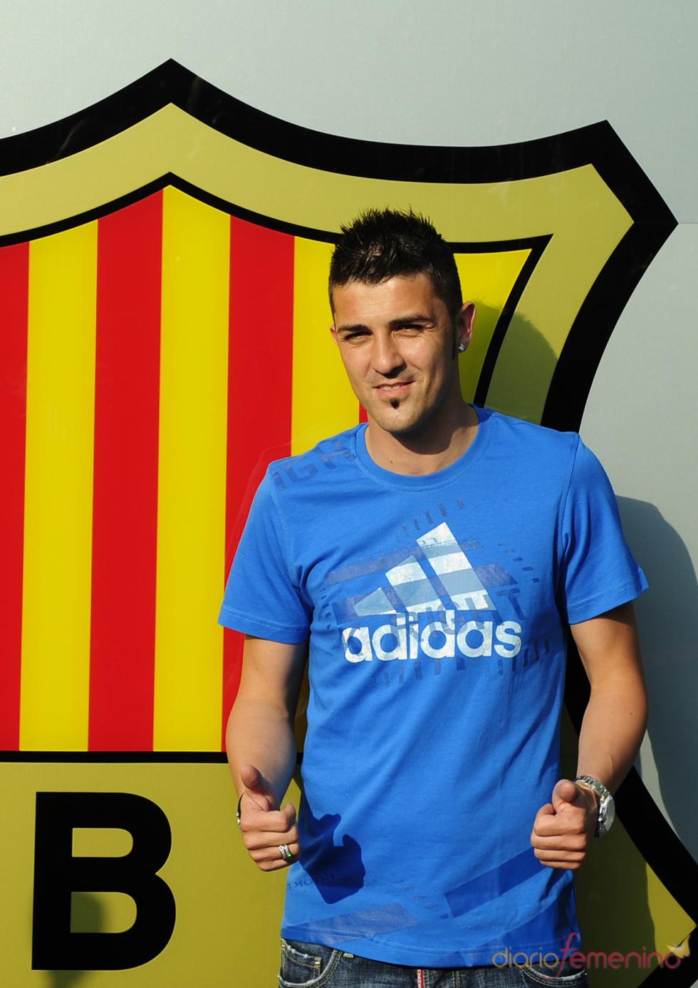 David Villa, un guapo de la selección española