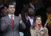 Los Príncipes de Asturias en Sudáfrica