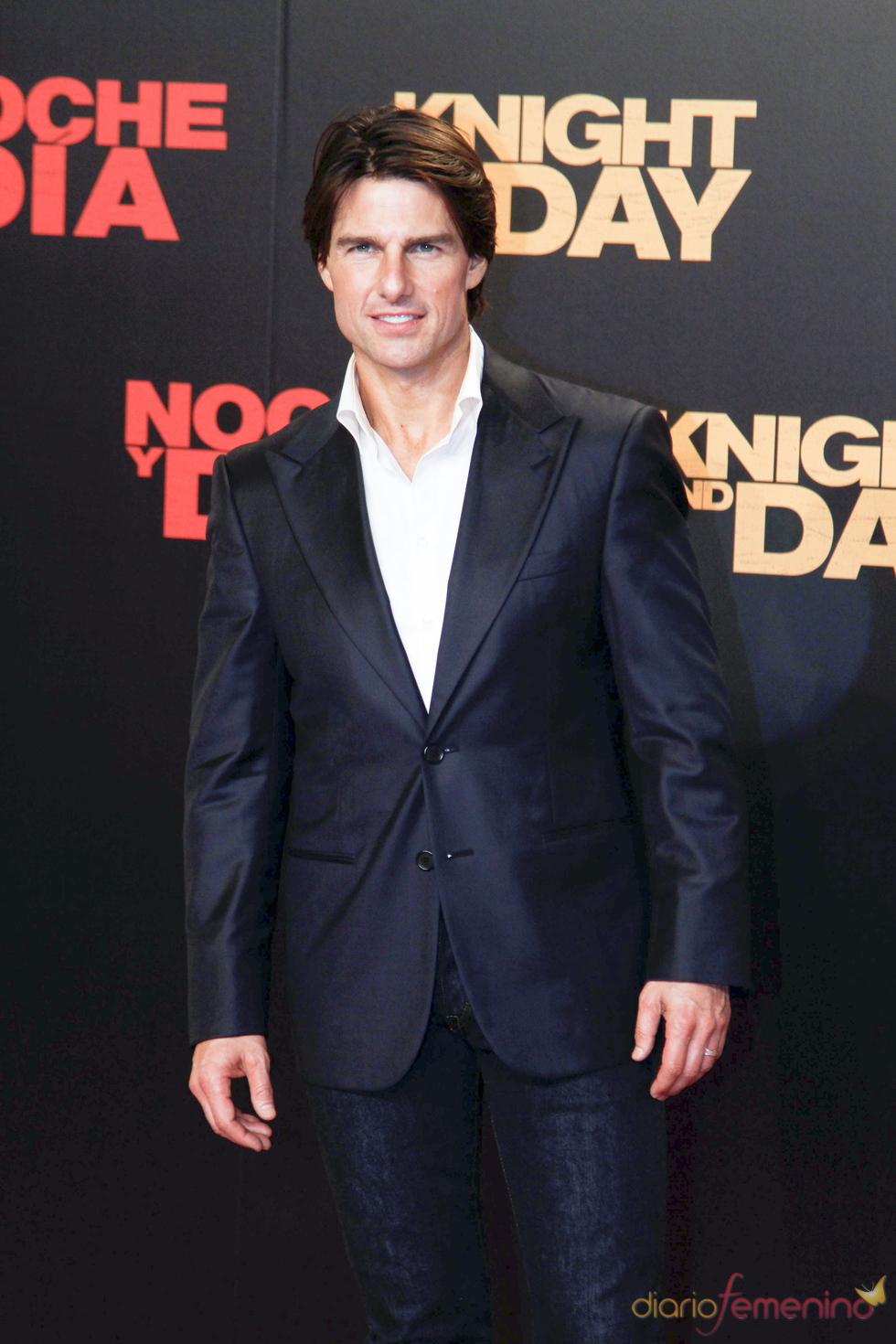Tom Cruise, en el estreno mundial de 'Noche y Día'