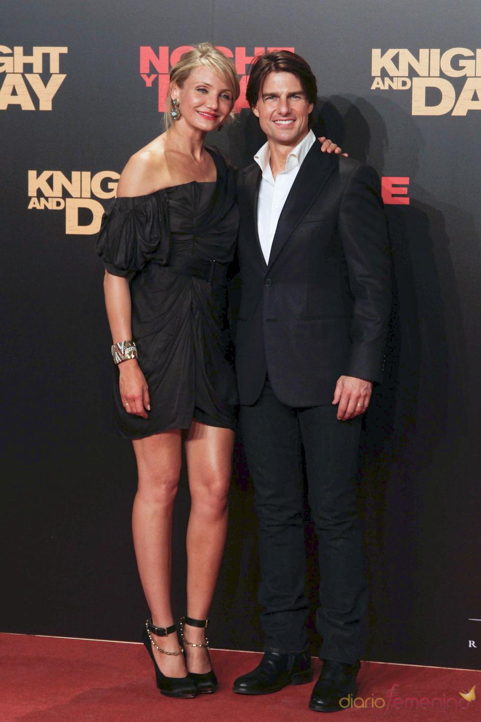 Tom Cruise y Cameron Diaz presentan 'Noche y Día'