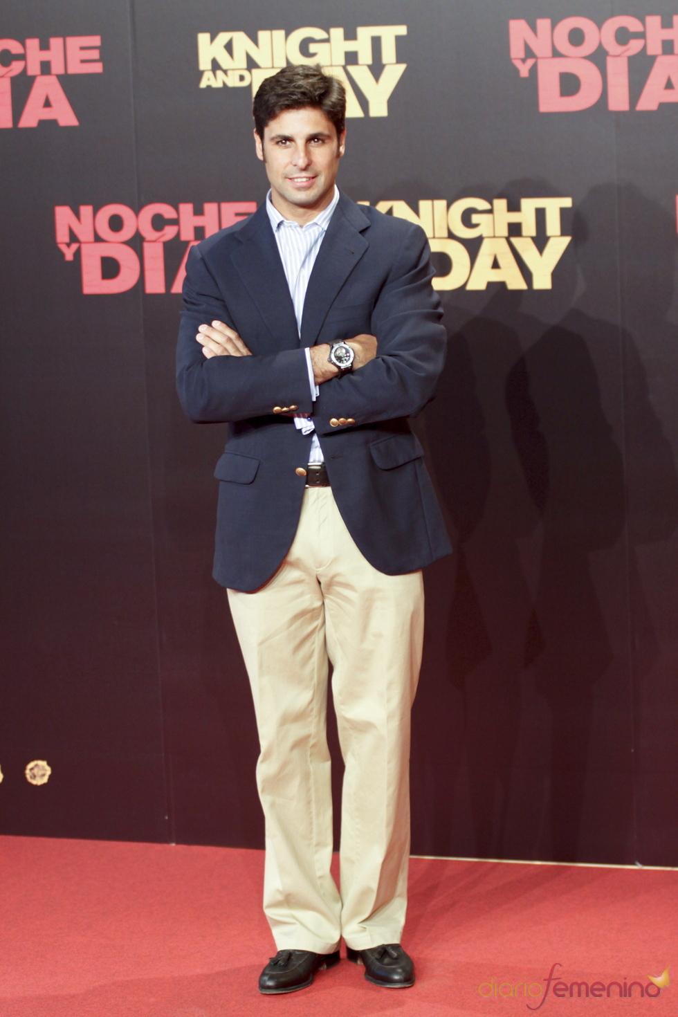 Fran Rivera en el estreno mundial de 'Noche y Día'