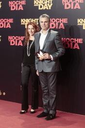 Agustín Bravo en el estreno mundial de 'Noche y Día'