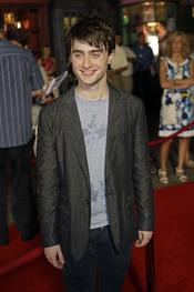 Daniel Radcliffe en el parque temático de 'Harry Potter'