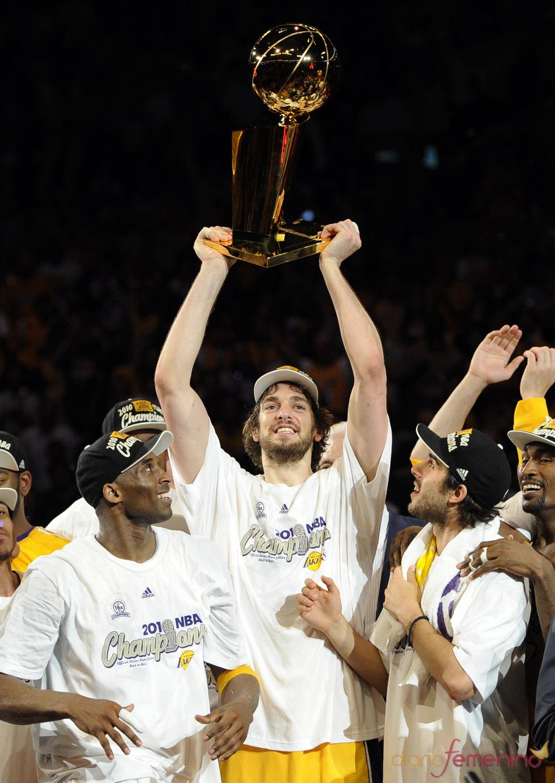 Pau Gasol es por segunda vez campeón de la NBA