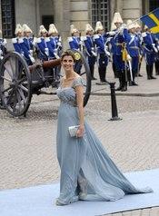 Rosario Nadal en la boda de Victoria de Suecia