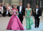 Las infantas Elena, Cristina e Iñaki Urdangarín en Suecia