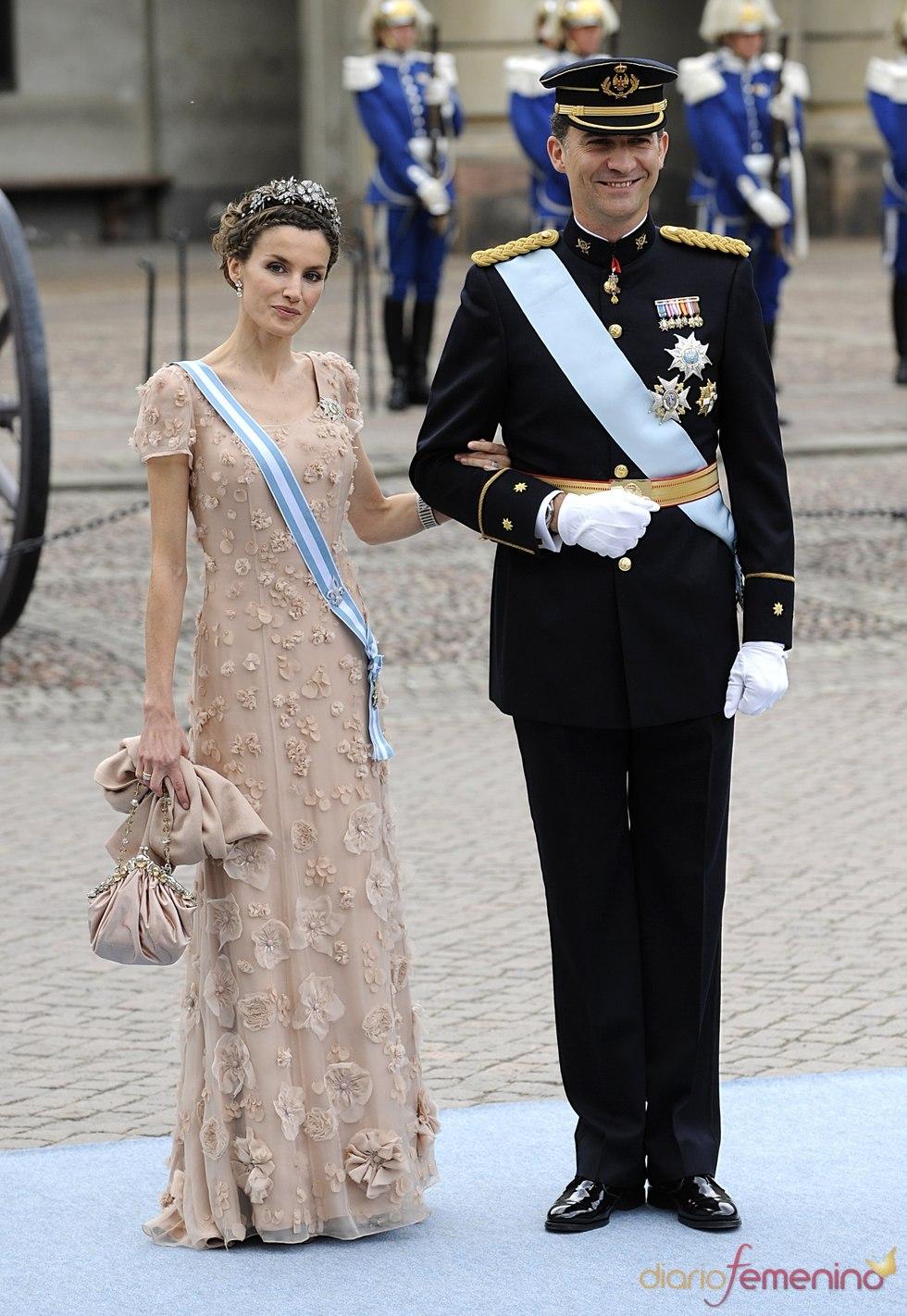Los príncipes de Asturias, elegantes en Suecia