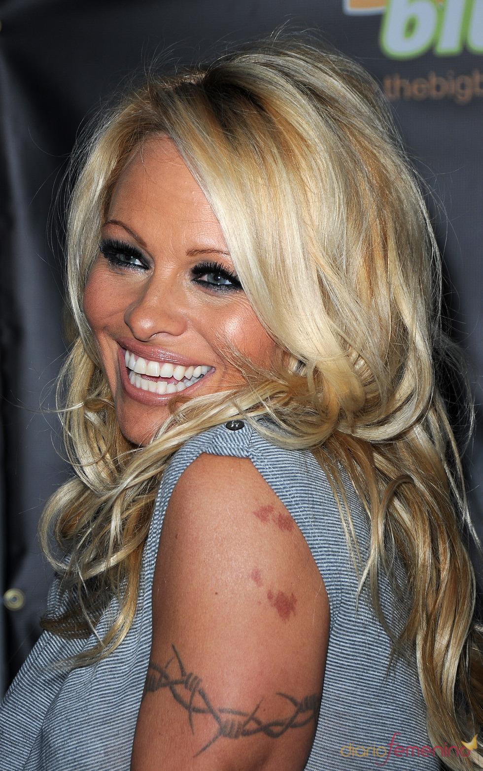 Tatuajes de Pamela Anderson