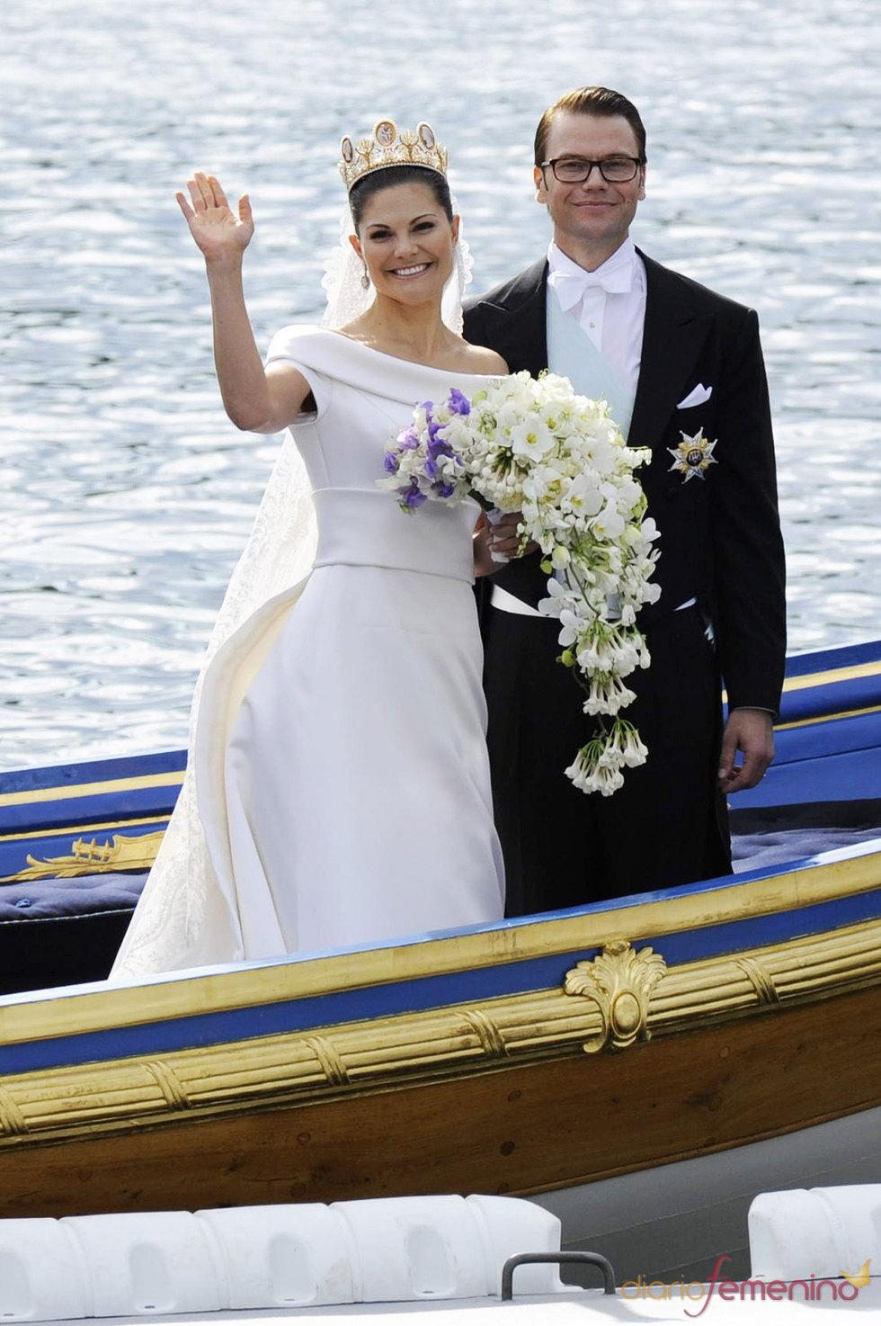 Victoria de Suecia y su marido Daniel Westling