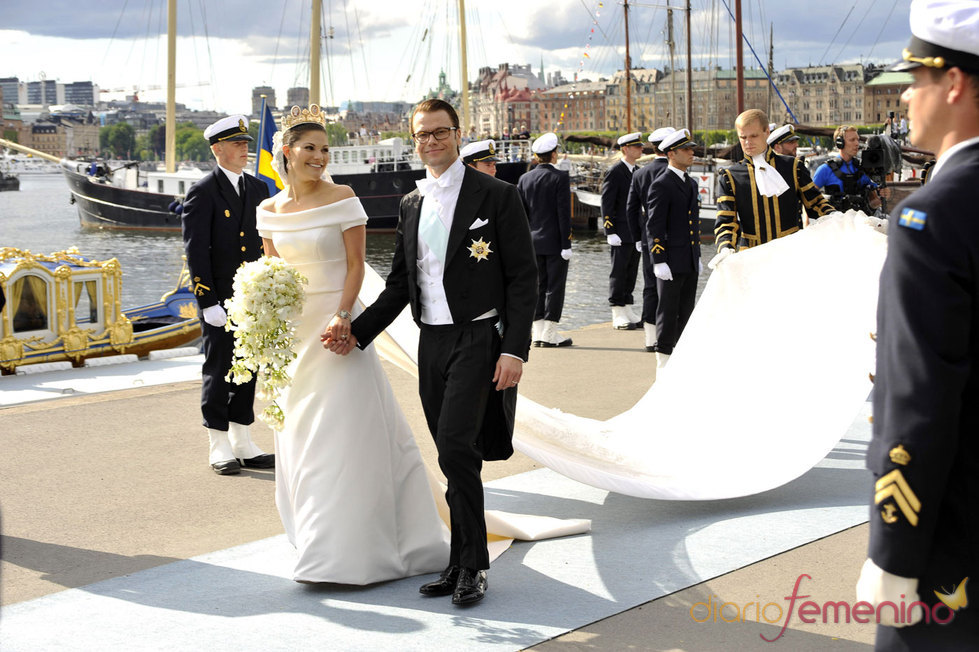 Boda real de Victoria de Suecia y Daniel Westling