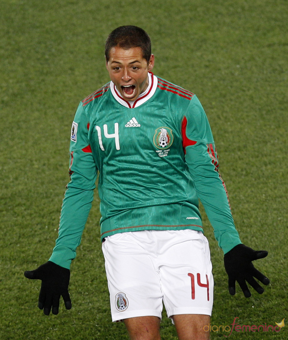 Gol de Chicarito contra Francia en el Mundial de Sudáfrica 2010