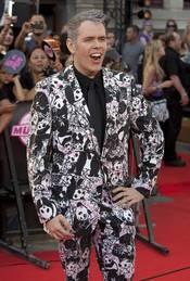 Perez Hilton posa en los premios MuchMusic