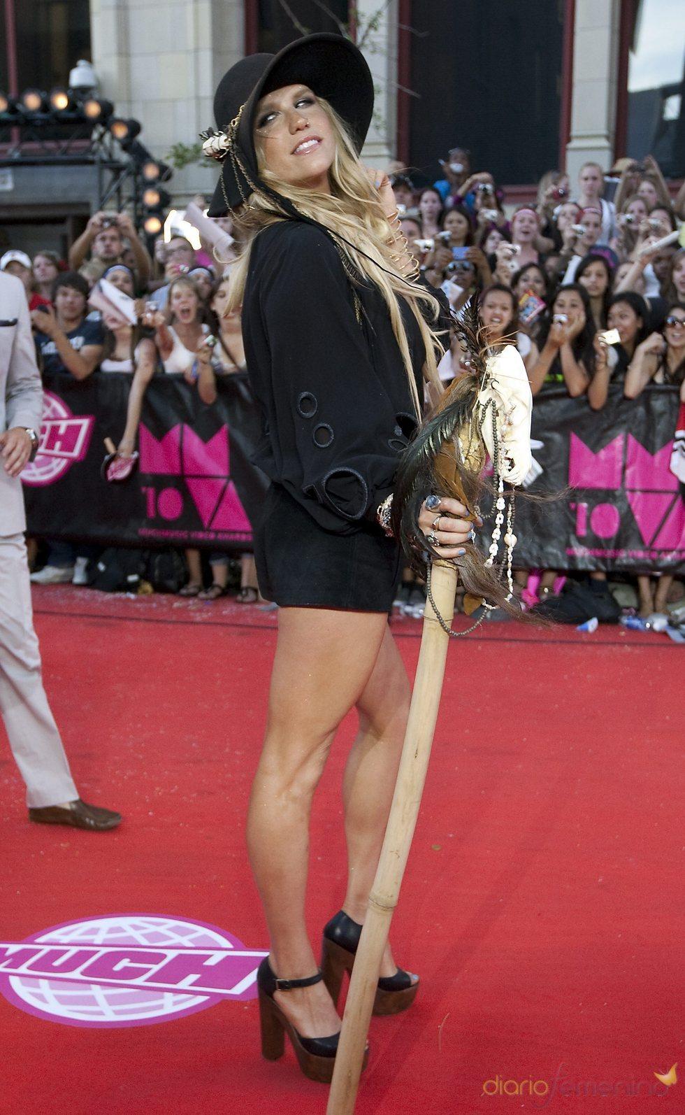 Kesha en los premios MuchMusic de Toronto