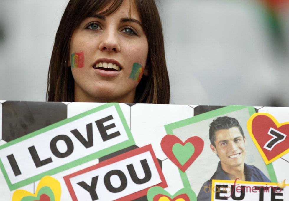 'Te amo' Cristiano Ronaldo