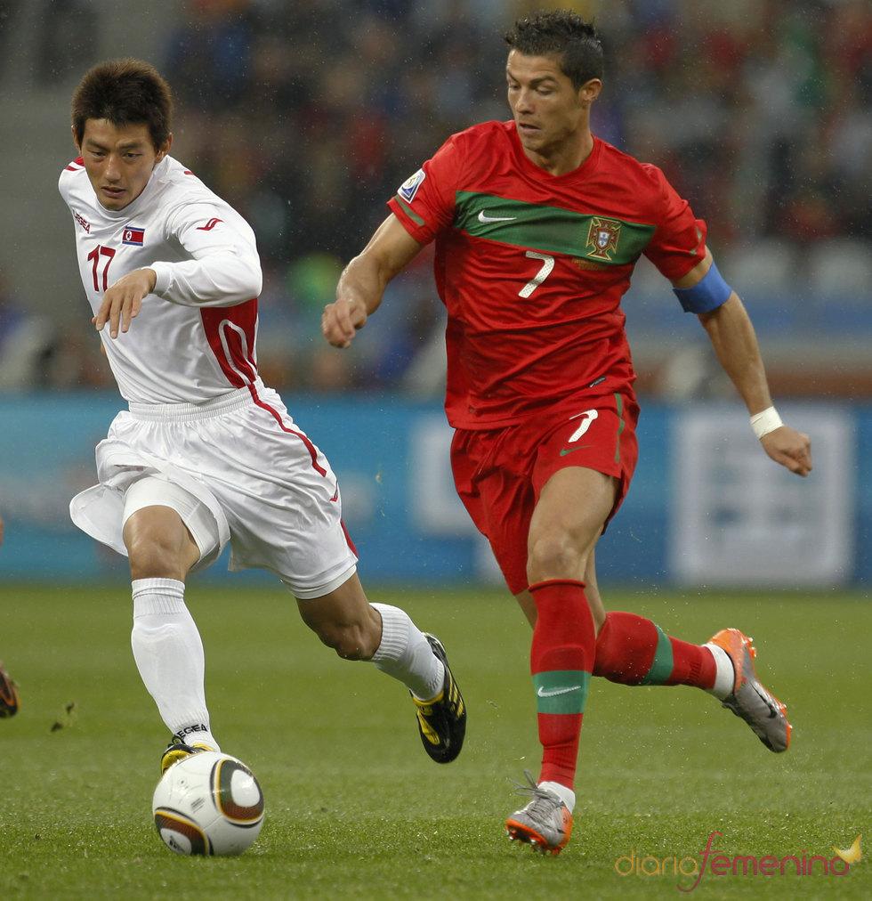 Cristiano Ronaldo aplasta a Coreo del Norte