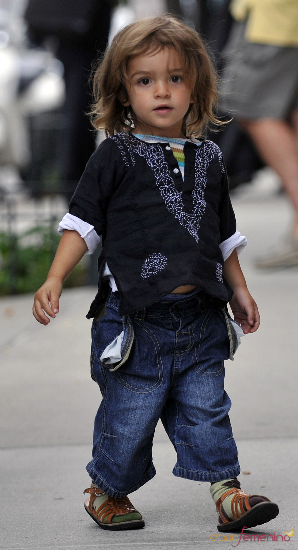 Levi McConaughey, un referente en moda infantil