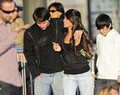 Messi y Antonella Rocuzzo juntos y enamorados