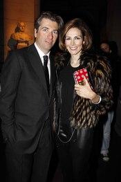 Matthias Helleu y Adriana Abascal, muy elegantes