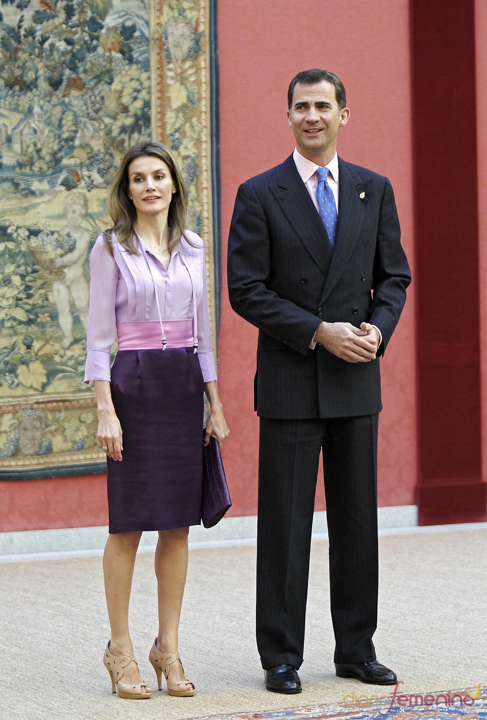 Los Príncipes de Asturias en acto oficial