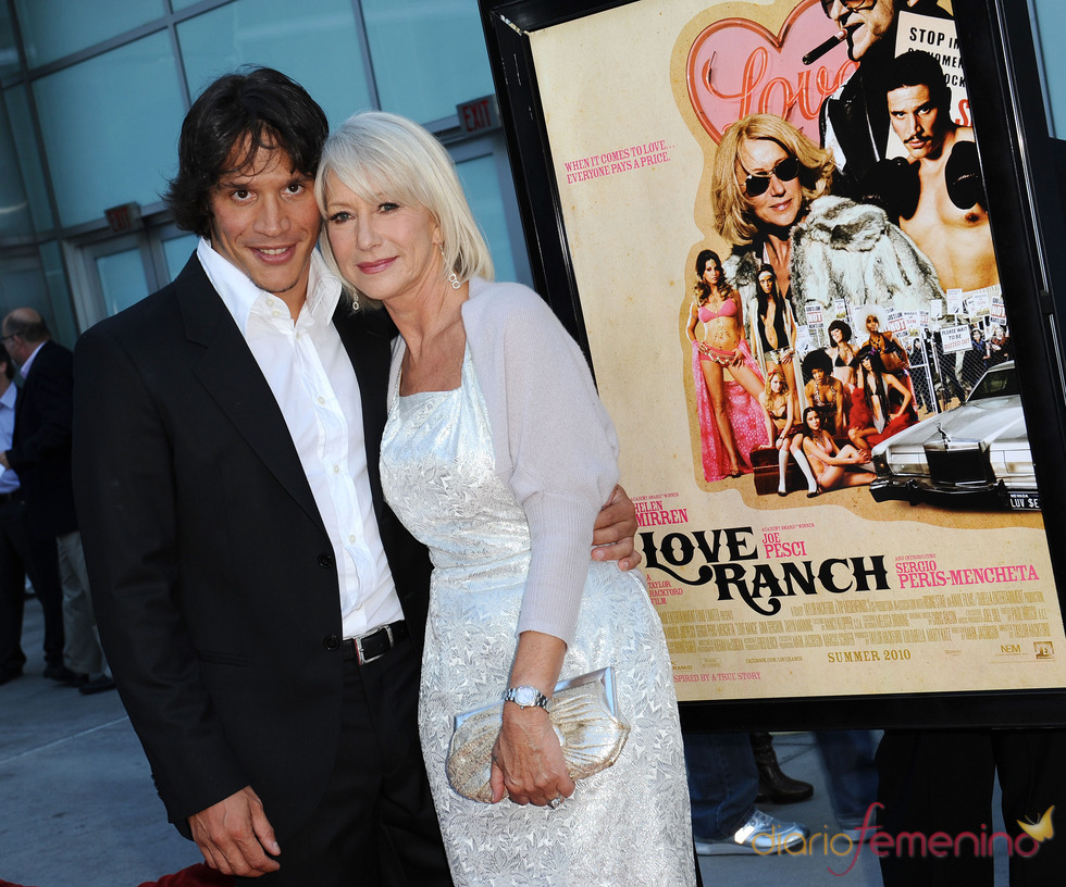 Sergio Peris Mencheta y Helen Mirren presentan 'Love Ranch'