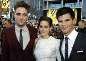 Robert Pattinson, Kristen Stewart y Taylor Lautner en Los Ángeles