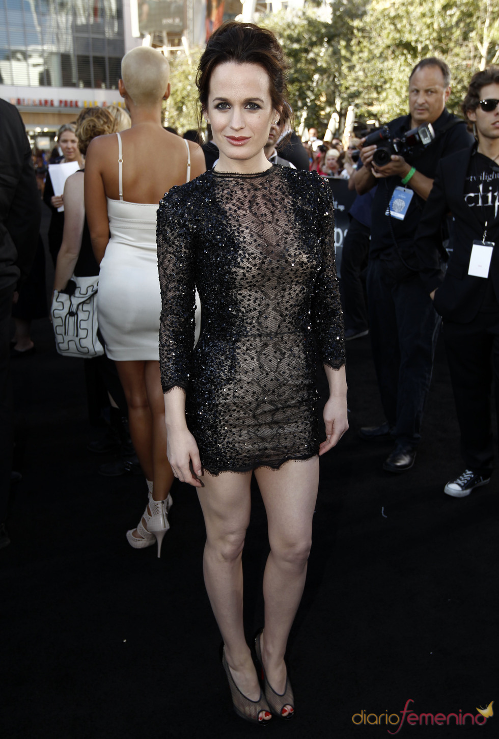 Elizabeth Reaser, en el estreno de 'Eclipse' en Los Ángeles