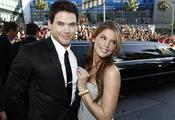 Kellan Lutz y Ashley Greene, juntos en Los Ángeles