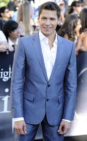 Alex Meraz, en el estreno de 'Eclipse' en Los Ángeles