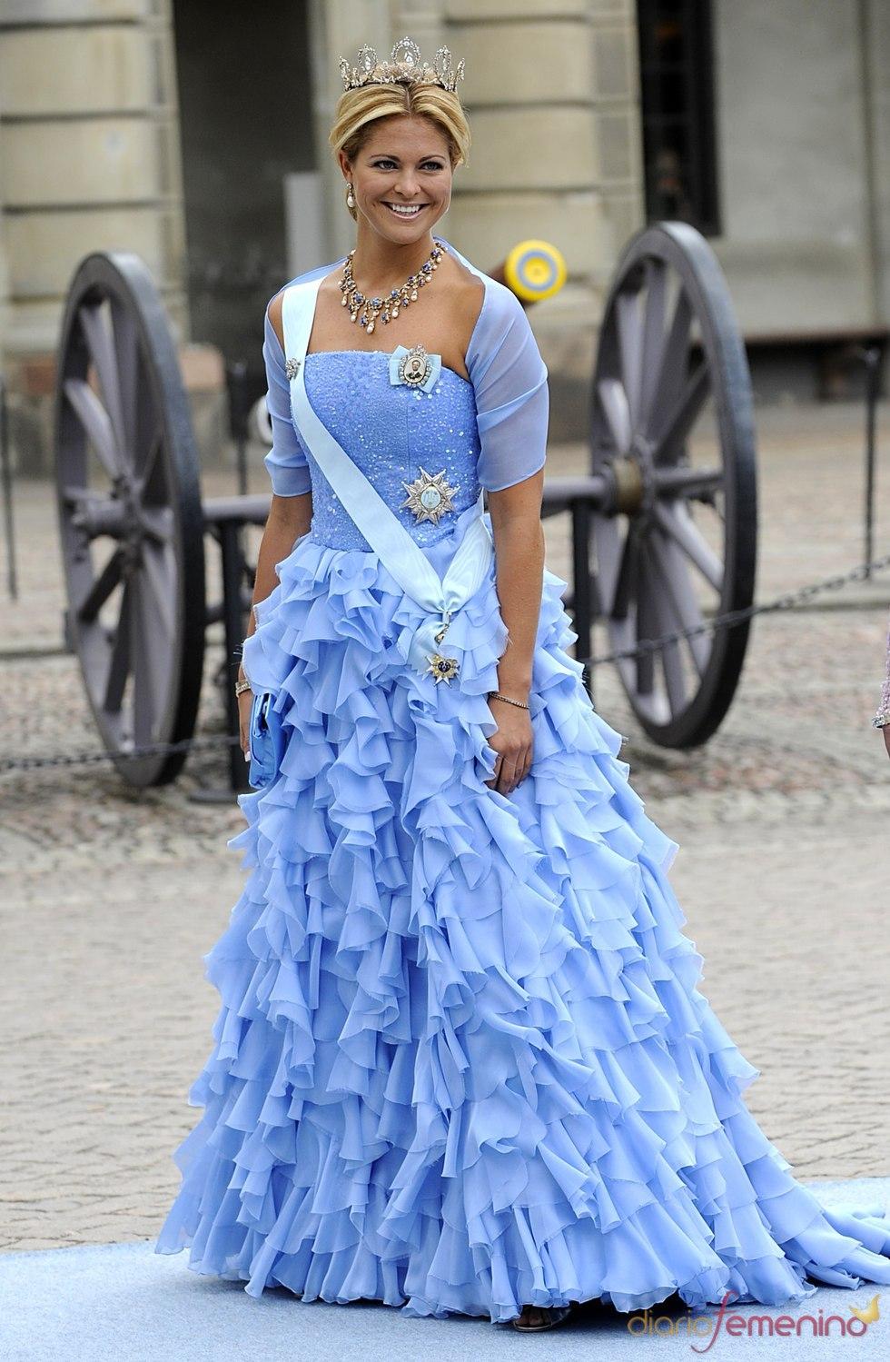 Magdalena de Suecia en la boda real de su hermana